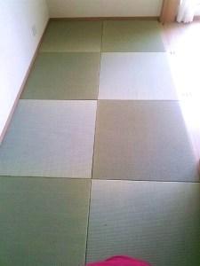 畳の香りもよく、部屋にピッタリ