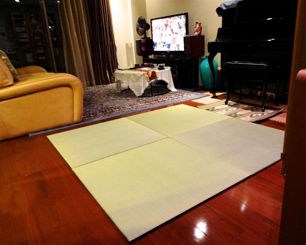 熊本産イ草を使用した置き畳