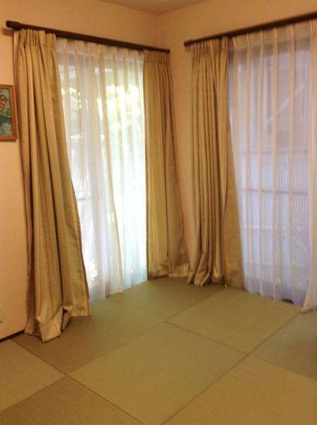 セキスイ美草 校倉を使用して製作した畳を敷いたお客様事例です