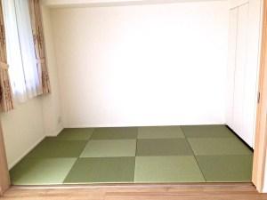 新築マンションで畳が無い・・・畳が好きなのに。そんな物件が増えていますが、子ども部屋にちゃんとした畳を敷くことができますよ!