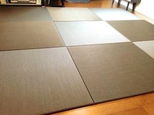 床暖房に対応した置き畳を清流を使用して13mmで製作できますか?