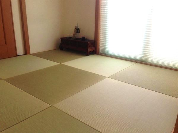 鍼灸院の畳を琉球畳に