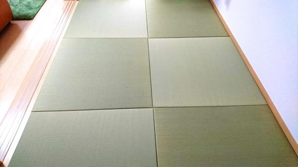 熊本産イ草で作った置き畳
