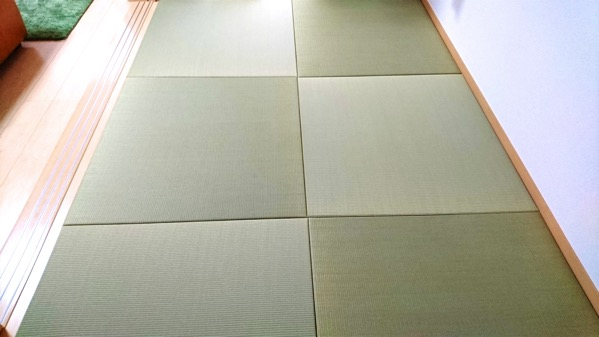 熊本産イ草使用 高級置き畳