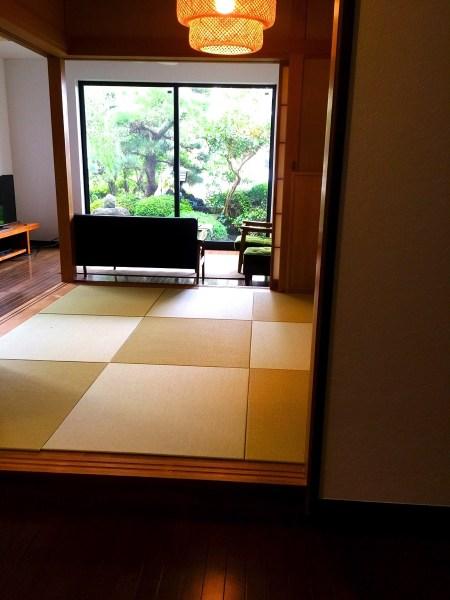 床暖房の部屋