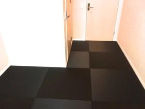 部屋が真四角じゃなく、柱があったりクローゼットがあったりしますが畳を敷くことができますか?