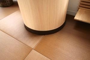 丸柱・変形部分の畳の製作【お客様事例】