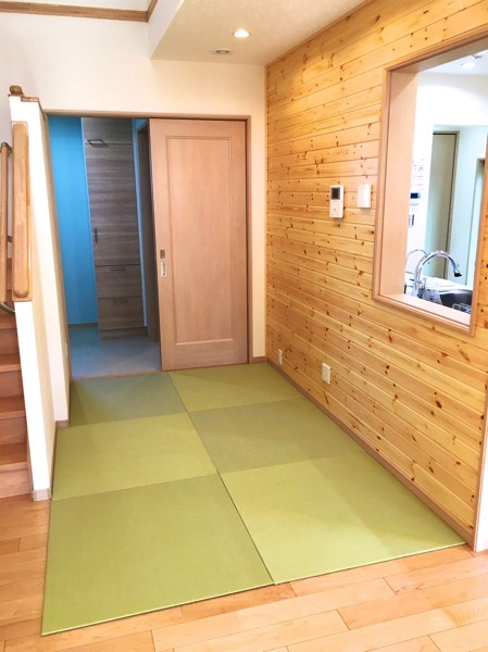フローリング床暖房の畳