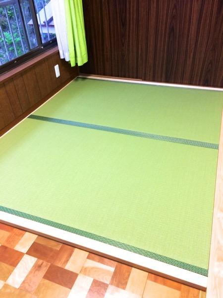 製作可能な最大巾で製作した畳