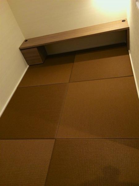 胡桃色の畳
