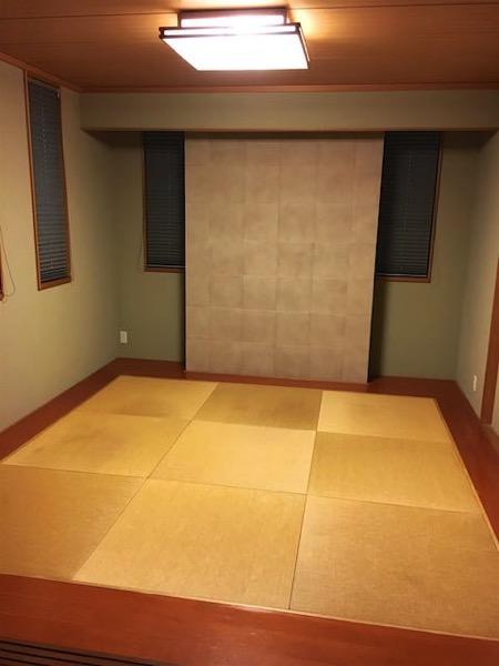 14年使用した古い畳