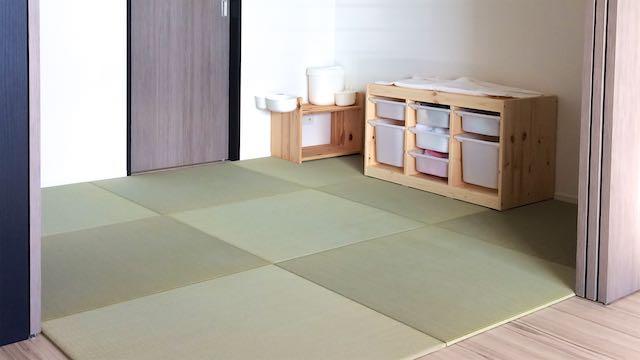IKEAの家具と畳