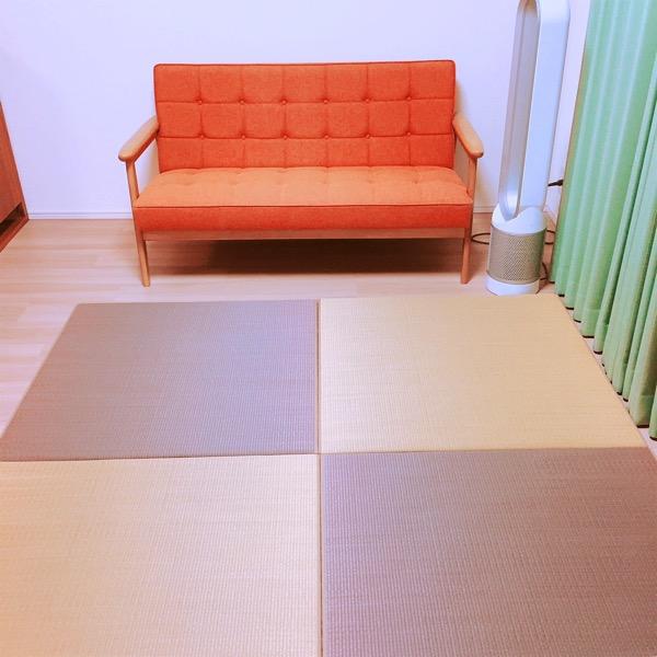 TATAMIST畳を敷きました