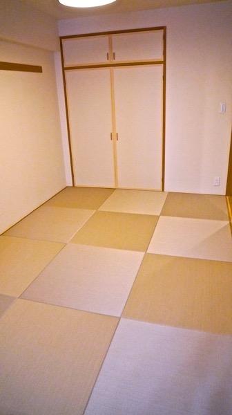 DIYで畳を入れ替え