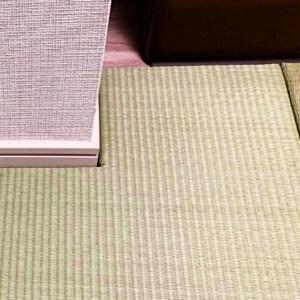 動かすことができない家具を避けて畳を作る