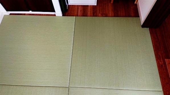 セキスイ美草でオリジナルサイズの畳