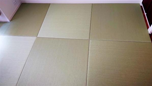 セキスイ美草でオリジナルサイズの畳_2