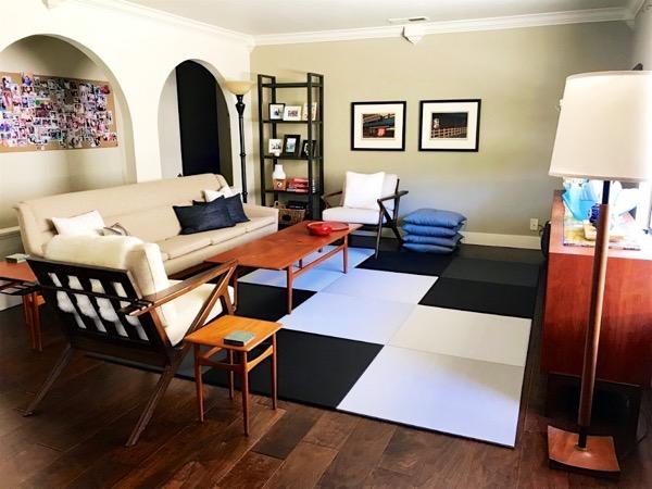 アメリカのお客様の畳の使い方