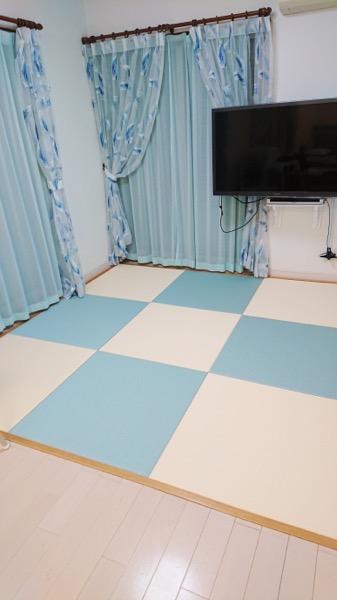 入れ替えた畳