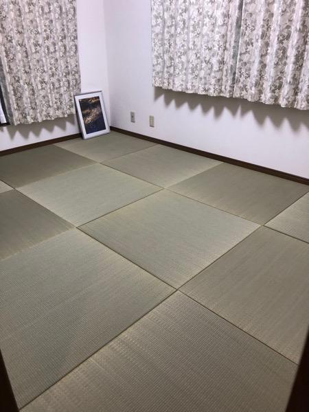 天然イ草の琉球畳