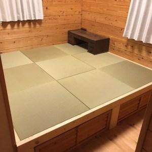 小上がりをDIYしたら、琉球畳で思った通りの仕上がりに