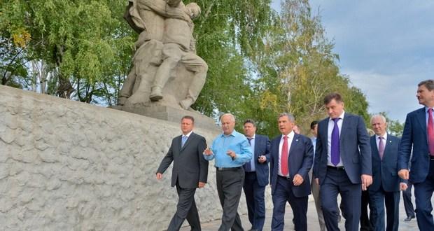 Татарстан делегациясе Волгоград шәһәрендә