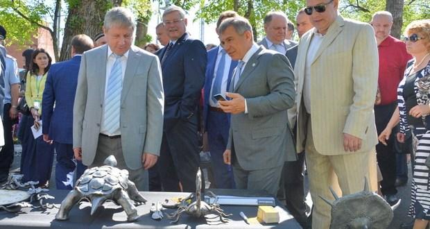 Рөстәм Миңнеханов федераль Сабантуйда катнашты