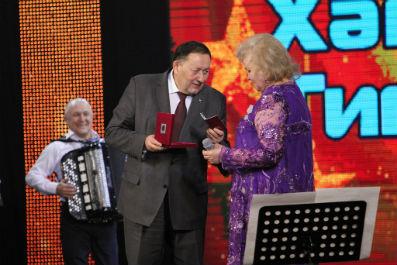 At the G. Tukai Tatar Philharmonic anniversary concert of People's Artist of RT Hamdoona Timergalieva took place