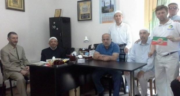 Муфтий Хаджи Салман Мусаев встретился с духовными лидерами татарской диаспоры Азербайджана