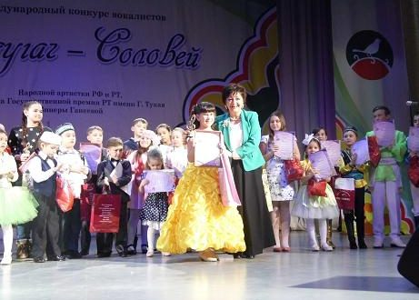 "In Kazan  IV International Singing Competition ""Sandugach-Solovei"" is underway"
