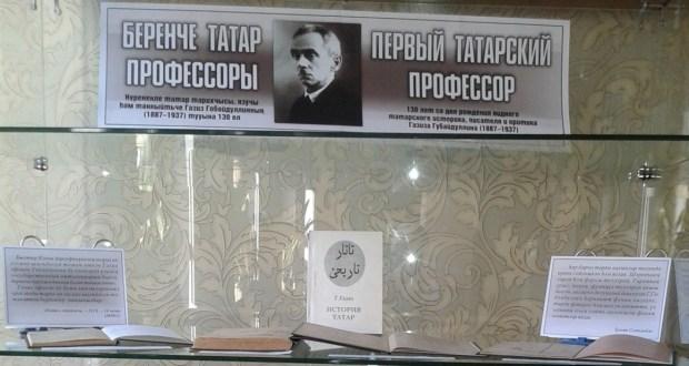The First Tatar Professor
