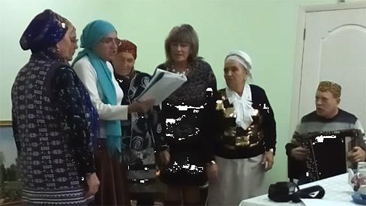 Новый ансамбль — «Сызран әбиләре»