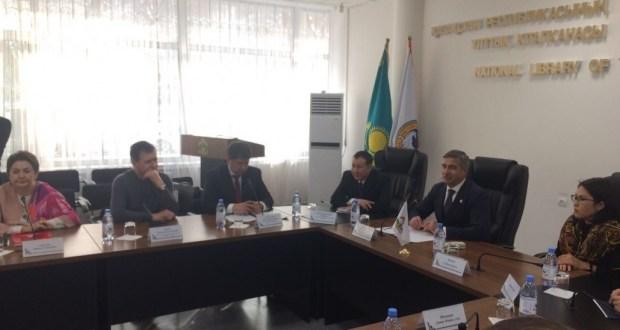 Встреча с представителями татаро-башкирских объединений г.Алматы