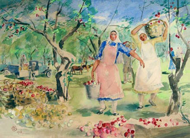 The Moscow Museum of the East presents paintings by Bucky Urmanche