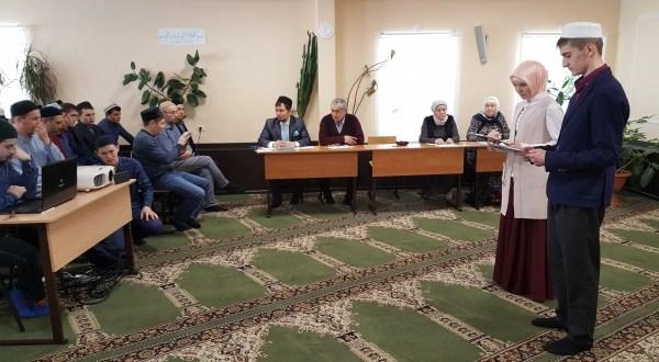 В медресе «Мухаммадия» прошел конкурс чтецов произведений Тукая