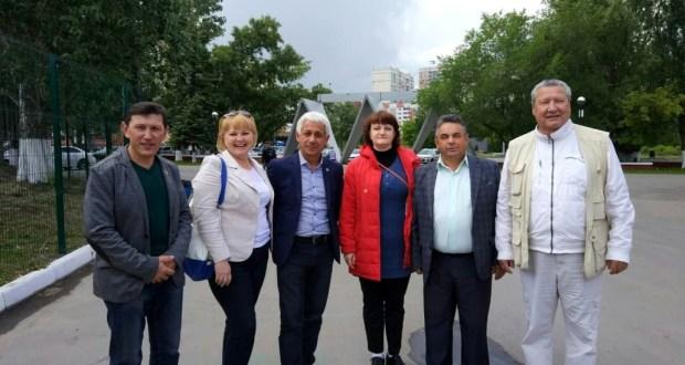 Делегация из Камско-Устьинского района Республики Татарстан посетила место проведения Самарского Сабантуя