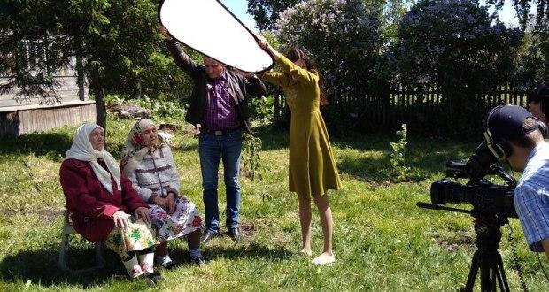 Село Боровка посетила съемочная группа ТНВ