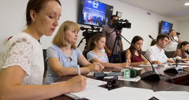 ФОТОРЕПОРТАЖ: VIII Бөтендөнья татар яшьлəре форумына багышланган пресс-конференция