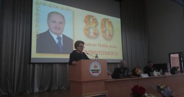 Бөтендөнья татар конгрессы Тәлгат Галиуллинны 80 яшьлек юбилее белән котлады