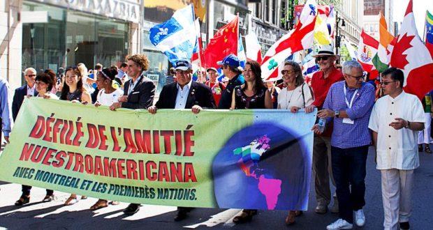 Tatars first time take part in defile of Nuestroamericana-2018 in Canada