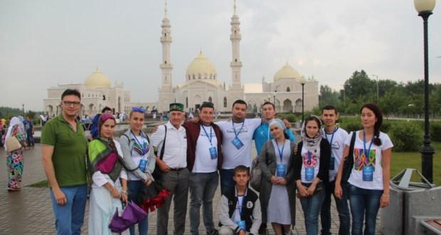 Делегация татарской молодежи Узбекистана приняла участие  в VIII Всемирном Форуме татарской молодежи