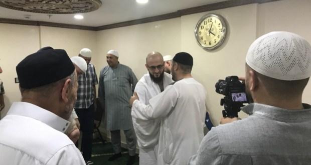 Камиль хазрат Самигуллин в Мекке встретился с паломниками из Татарстана