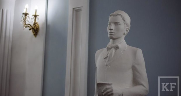 In Kazan, sculpture composition with Tukay and Tolstoy to be installed