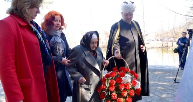 В Пушкино прошло чествование ветерана Великой Отечественной войны Рахили Заитовны