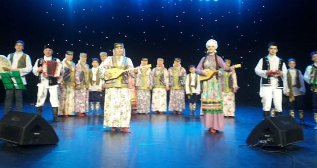 Чувашстанның «Мишәр» ансамбле Казанда Вил Усманов концертында чыгыш ясады