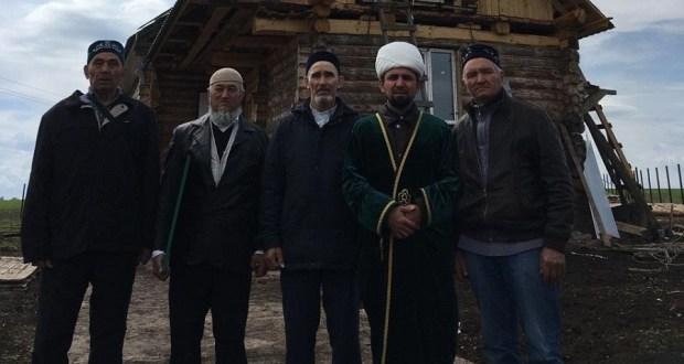 Баулы районы Васькино-Туйралы авылында яңа мәчет манарасына ай куелды