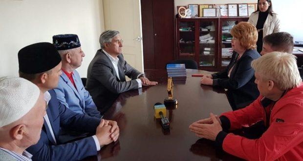 Василь Шайхразиев посетил город Новочебоксарск
