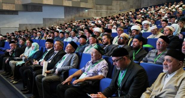 В Казани продолжается X Всероссийский форум татарских религиозных деятелей