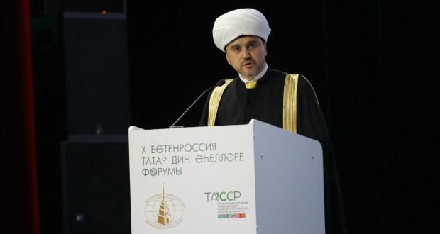 Рушан хазрат Аббясов: Ислам является духовной народообразующей основой этноса