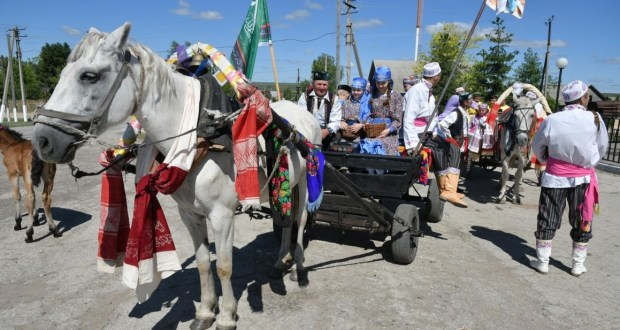 Sabantuy was celebrated in Rostov-on-Don  city